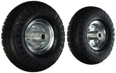 2 Air Tires 10in Wheels Dolly Go Cart Golf Cart Try Cycle Harper Hand Truck