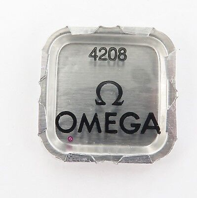 Omega Part 4208 Jewel. Nos In Original Packet. Contains 1 Jewel.