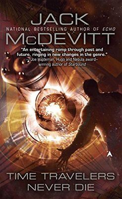 Time Travelers Never Die by McDevitt, Jack Book The Cheap Fast Free Post