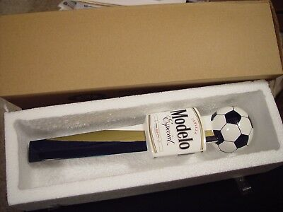 NEW! MODELO ESPECIAL SOCCER BALL Ceramic Beer Tap Handle FIFA World Cup