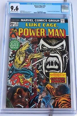 Luke Cage, Power Man #19 Cgc 9.6 1St Appearance Cottonmouth