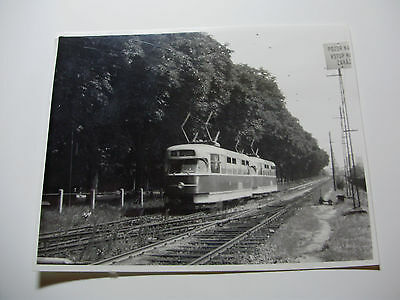 CZE056 - BRNO CITY TRAMWAY - TRAM PHOTO - Czech Republic - Czechoslovakia