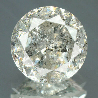 1.50 Cts. CERTIFIED Round Cut White J Color Loose Natural Diamond Solitaire 4063