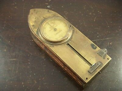 ANTIQUE RARE GERMAN MADE WATCHMAKER CRYSTAL GUAGE 19th CENTURY Watch Glass