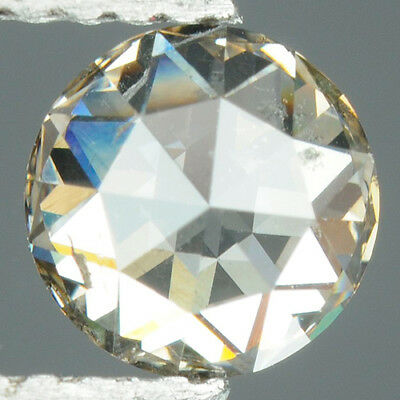 0.63 cts. CERTIFIED Modified Round Cut White-M / SI2 Natural Loose Diamond GD56