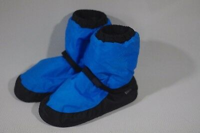 Bloch Boots Blue Warm Up Booties Dance IM009 S/Small S: US 4,5,6