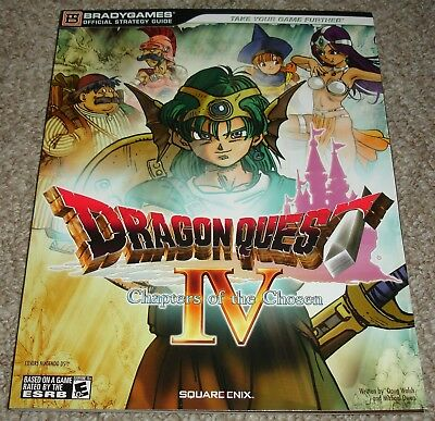 Dragon Quest IV: Chapters of the Chosen Strategy Guide Used Very Good Condition