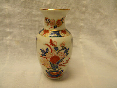 Vintage Porcelain Hand Painted Vase From Japan - Fabulous!!