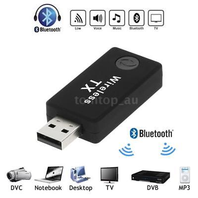 TX9 Bluetooth USB Transmitter Wireless Stereo Music Audio Adapter for TV PC DVD