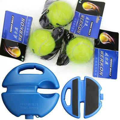 Latest Tennis Training Aid Outdoor Single Practice Durable Back Base W/ String