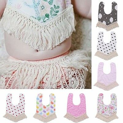 Girls Head Scarf Tassel Baby Bibs Newborn Saliva Triangle Towel Dribble HOT Pro