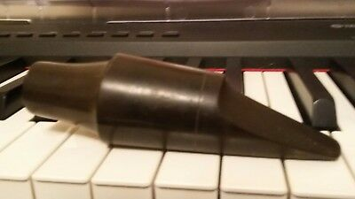 Vintage hard rubber bari sax mouthpiece made in france round chamber