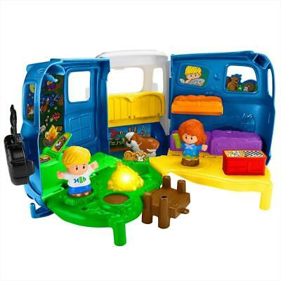 Fisher Price Little People Dvd54 Voiture Et Course Joue
