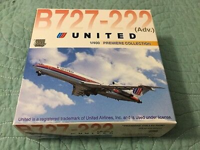United Airlines B727-200 1:400 scale (Dragon Wings) New