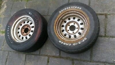 Ford 12 slotters wheels