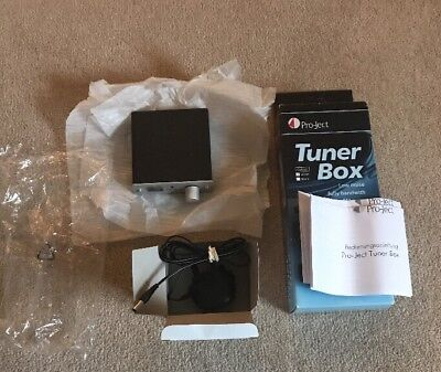 Pro-ject Tuner Box, audiophile quality FM Silver Front