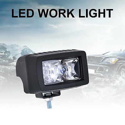 2Inch 6W Round LED Work Light Fog Driving Lamp For Offroad SUV Spotlight Boat