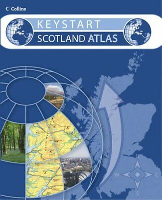Collins Keystart Scotland Atlas Paperback Book The Cheap Fast Free Post