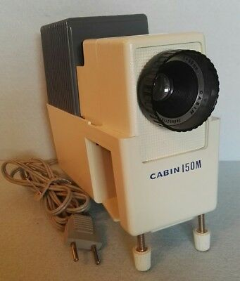 Proiettore Diapositive Cabin 150M Made In Japan Anni 60 Slide Projector Working!