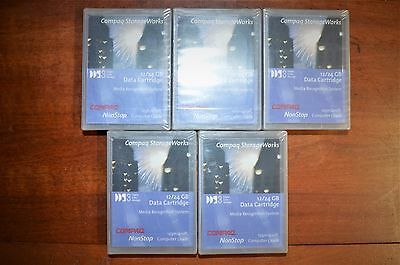 Lot of 5 Compaq Storageworks DDS3 Digital Data 12/24 GB Storage