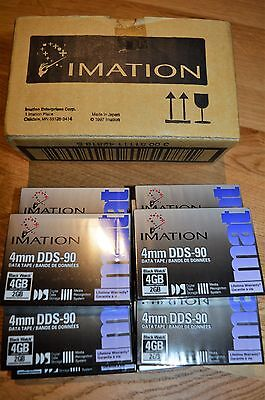 IMATION Box of 10 4mm DDS-90 Data Tapes (New in Box)