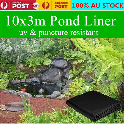 Pond Liner 10mX3m Reinforced HDPE HeavyDuty 20Yrs Guarantee Pond&Landscaping