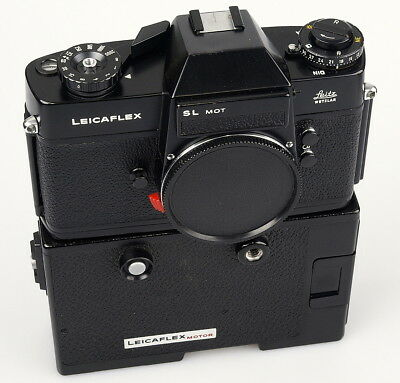 Leicaflex SL mot with motor 14077. a very nice set in good working condition.