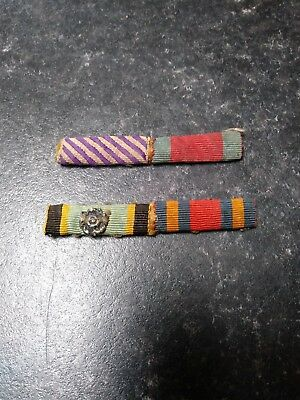 WW2 RAF medal ribbons, Aircrew Europe Star, DFC