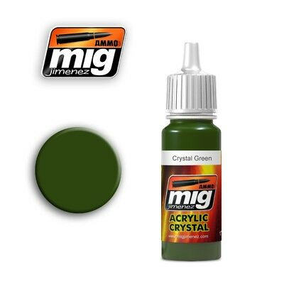 Ammo of Mig A.MIG-092 Crystal Green - Peinture Acrylique 17ml