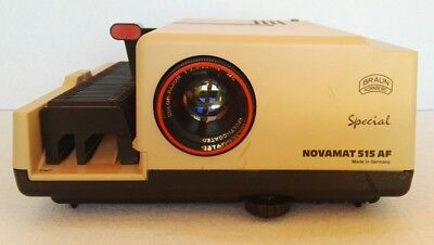 Braun Special Novamat 515 Af Proiettore Diapositive Made In Germany
