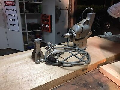 Vintage Wolf Drill And Lathe Set
