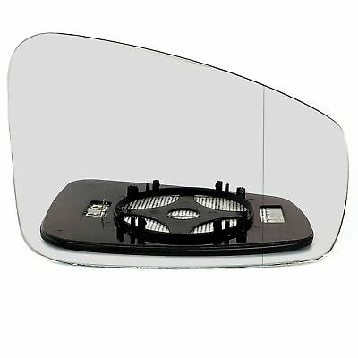 Right Driver Side WIDE ANGLE HEATED WING MIRROR GLASS Renault Laguna 3 2007-15