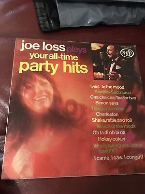 Joe Loss Plays Your All Time Party Hits LP