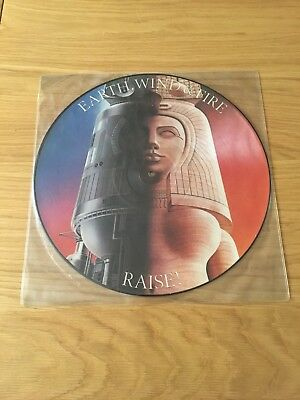 earth wind and fire picture disc RAISE! NEW CONDITION.