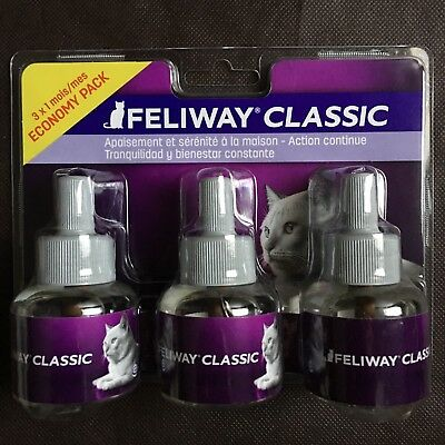 LOT De 3 Recharges Feliway Chat