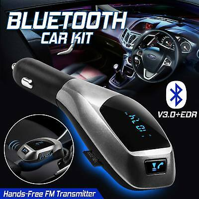 Bluetooth FM Transmitter Wireless Car Kit Radio MP3 Music Player LCD USB Charger