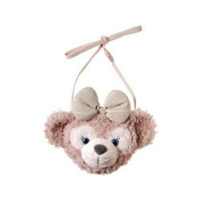Tokyo Disney Sea Limited Shellie May Plush Face Pouch Coin Case Freeshipping