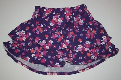 New Gymboree Floral Print Tiered Ruffle Skirt Skort Size 8 Year NWT Island Girl