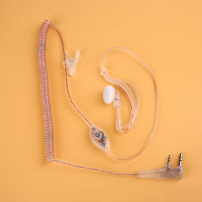 Transparent Hanging Headphones Headset For Baofeng UV5R 888S Walkie Talkie