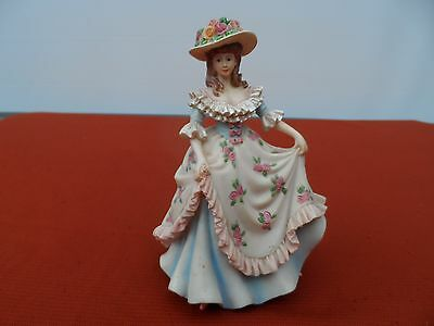 "Regency Fine Arts, Hand Painted Limited Edition Figurine ""Demure"""