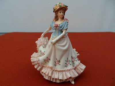 "Regency Fine Arts, Hand Painted Limited Edition Figurine ""Stepping out"""