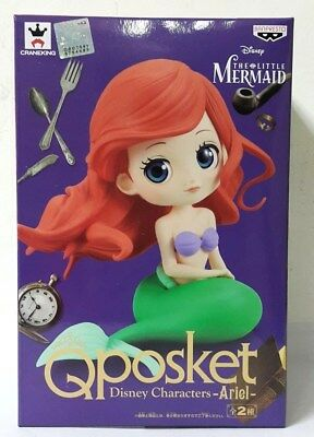 BANPRESTO Q POSKET DISNEY CHARACTERS The Little Mermaid Ariel FIGURE