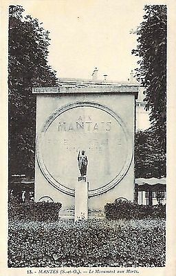 MANTES - Monument Morts