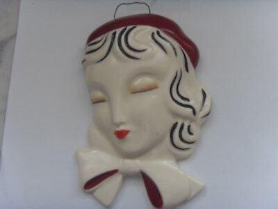 Wedgewood Clarice Cliff  Bizarre  Collection Wall Mask