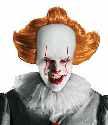 Rubies IT Pennywise Horror Movie Clown Adult O/S Costume Halloween Wig 34721