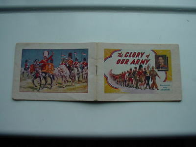 The Glory of Our Army - Booklet - Adventure - 1930s