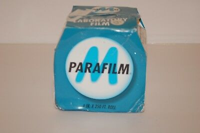"Parafilm PM999 All-Purpose Laboratory Film Double Size Roll 4"" x 250'"