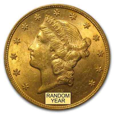 $20 Liberty Gold Double Eagle BU (Random Year) - SKU #97784