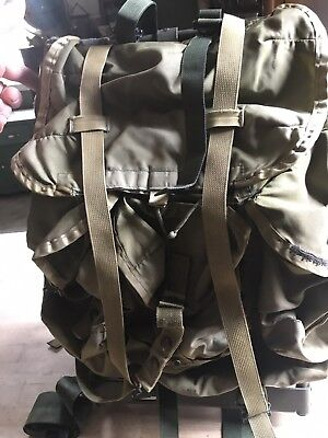 US Army Issue Medium ALICE pack / Ruck sack / Backpack complete with frame