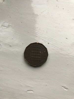 1960 Queen Elizabeth II Three Pence Coin - Ideal For Birthday Present